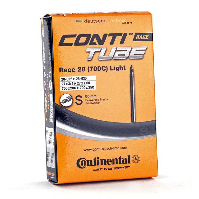 Continental Binnenband 700X18/25C LIGHT SV 80mm  - PRESTA