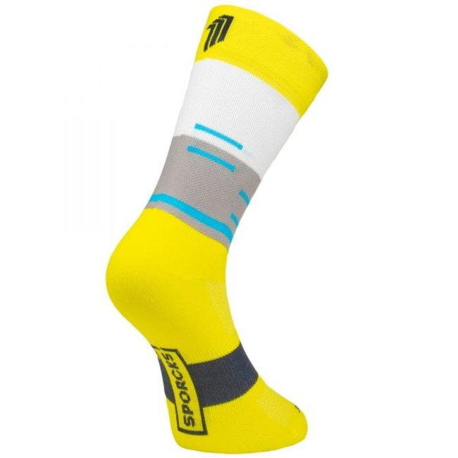 Sporcks Grutenhutte Gelbe Radfahren Socken