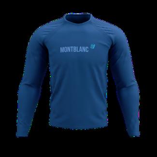 Compressport Compressport Training Lange Mouwen T-Shirt Blauw Mont Blanc 2021 Heren