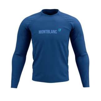 Compressport Compressport Training Long Sleeve T-Shirt Blue Mont Blanc 2021 Men