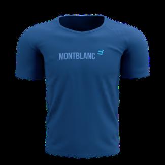Compressport Compressport Training Kurzarm T-Shirt blau Mont Blanc 2021 Herren
