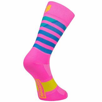 Sporcks Sporcks Larrau Rosa Radfahren Socken