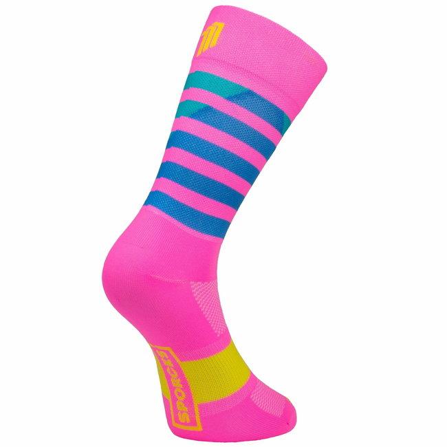 Sporcks Larrau Rosa Radfahren Socken