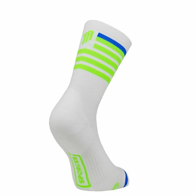 Sporcks Red Air Grüne Triathlon-Socken
