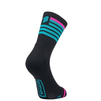 Sporcks Sporcks Red Air Schwarz Triathlon Socken