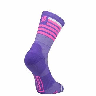 Sporcks Sporcks Red Air Purple Triathlon Socks