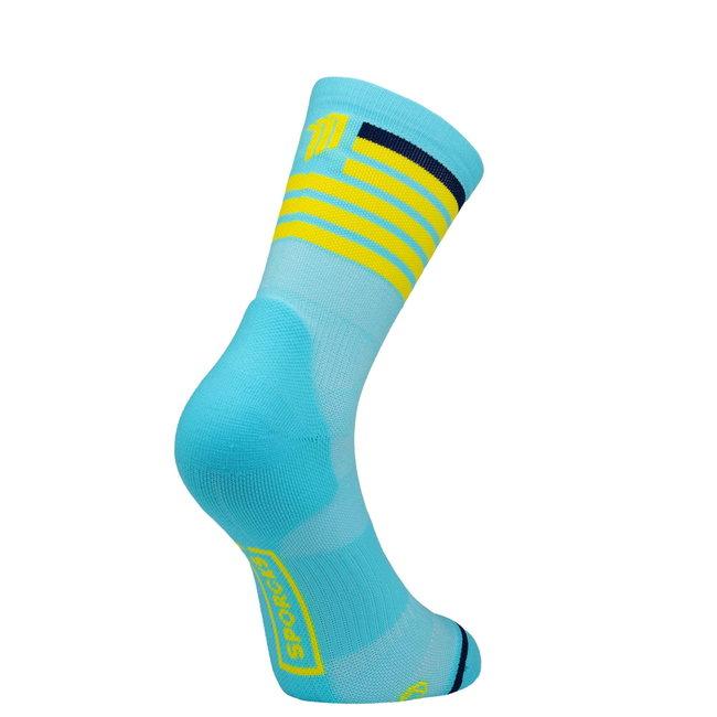 Sporcks Red Air Blaue Triathlon-Socken