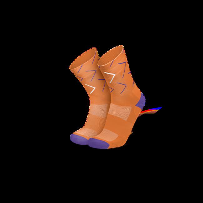 Incylence Forward Oranje Fietssokken
