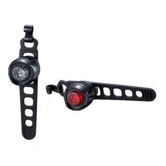 Cateye Cateye OrbBeleuchtungsset für Fahrrädert SL-LD160-F