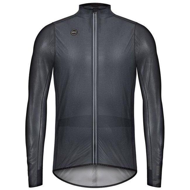 Gobik Pluvia Lightweight Rege cycling jacket Unisex True Black