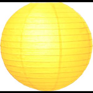 Gele lampionnen