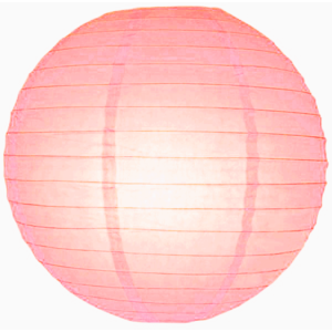 Roze lampionnen