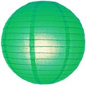 Donker groene lampion 35 cm