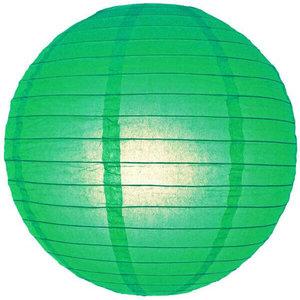 Donker groene lampion