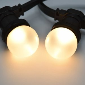 Prikkabel met matte led lampen - 10 tot 50 meter