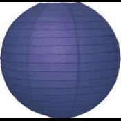 Blauwe lampion van rijstpapier