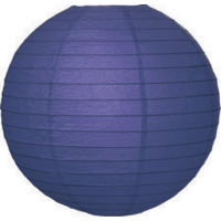 Blauwe lampionnen