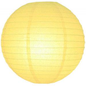 Licht gele lampionnen