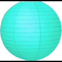 Licht blauwe lampionnen