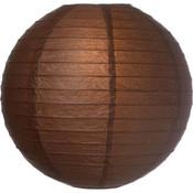 Bruine lampionnen van rijstpapier