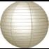 Zilver kleurige lampionnen van rijstpapier