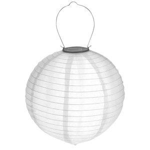 Solar lampion wit