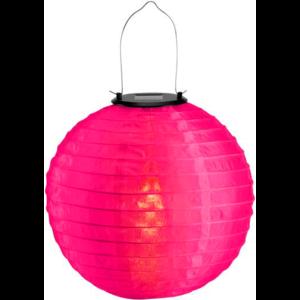 Solar lampion roze