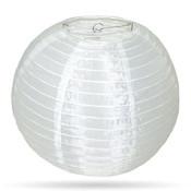 Nylon lampion wit 35 cm of 50 cm