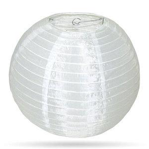 Witte lampion voor buiten