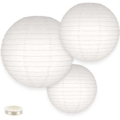 Lampion pakket 35 witte lampionnen