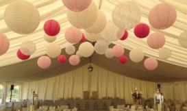 Lampionnen als versiering voor uw bruiloft