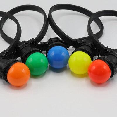 Inclusief 5 kleuren led lampen
