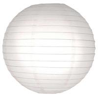 Witte lampionnen 20 cm