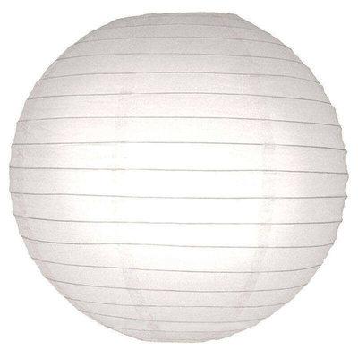 Witte lampion van rijstpapier