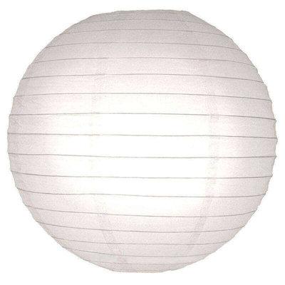Witte lampionnen van papier