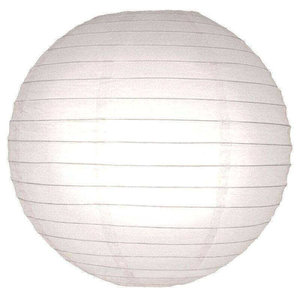 Witte lampionnen 65 cm
