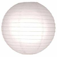Witte lampionnen 75 cm