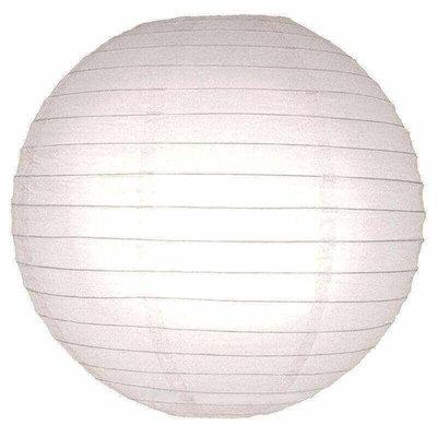 Grote witte lampion als hanglamp