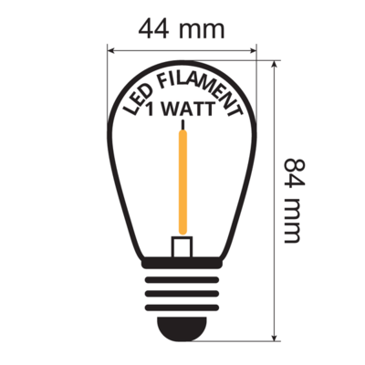Inclusief extra warm witte led lampen 2200 K
