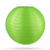 Nylon lampion groen 35 cm