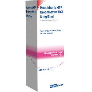 Healthypharm Healthypharm Hoestdrank 8mg/5 Ml - 150 Ml