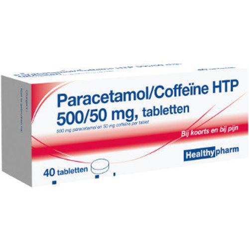 Healthypharm Healthypharm Paracetamol Coffeine 500/50 Mg - 40 Tabletten
