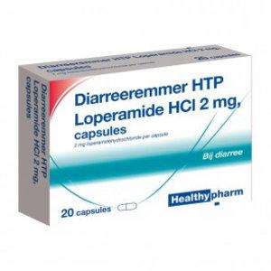 Healthypharm Healthypharm Diarree Remmer 2mg - 20 Capsules