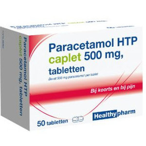 Healthypharm Healthypharm Paracetamol 500 Mg - 50 Caplet