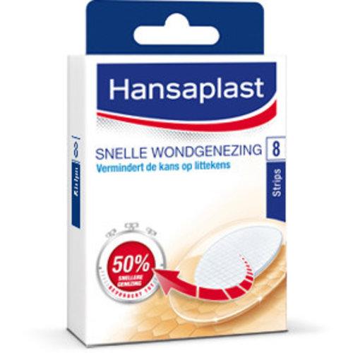 Hansaplast Hansaplast Snelle Wondgenezing Groot - 8 Stuks