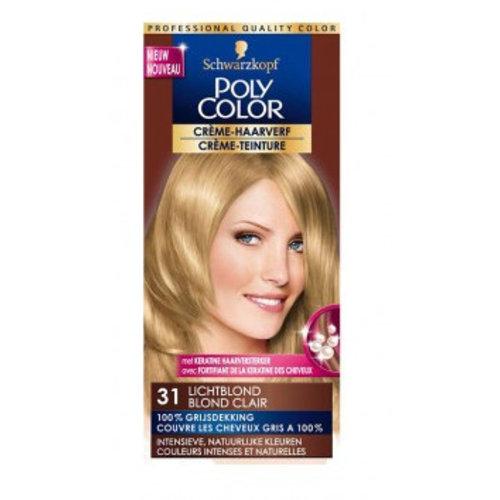 Poly Color Poly Color Creme 31 Lichtblond - 1 Stuks