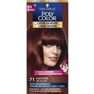 Poly Color Poly Color haarverf Creme 71 Mahonie - 1 Stuks