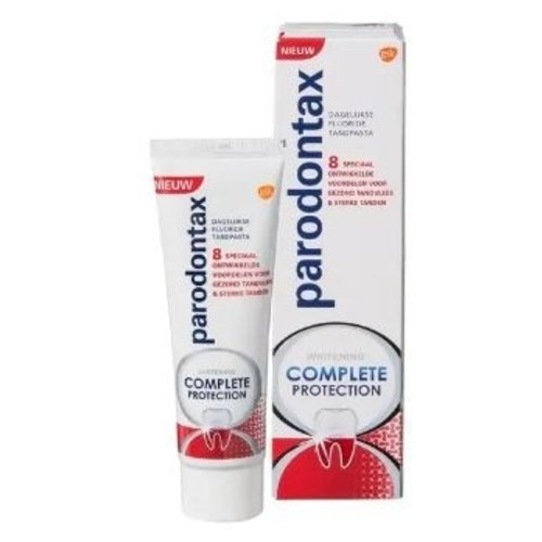 Parodontax Parodontax tandpasta complete protection whitening 75 ml