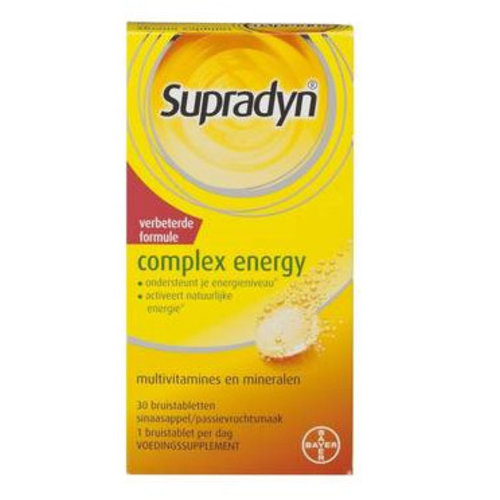 Supradyn Supradyn Complex Energy Bruis - 30 Tabletten