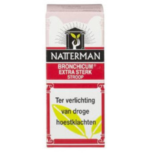 Natterman Natterman Bronchicum Extra Sterk Rood - 100 Ml